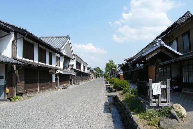 長野県東御市~海野宿の古い街並...