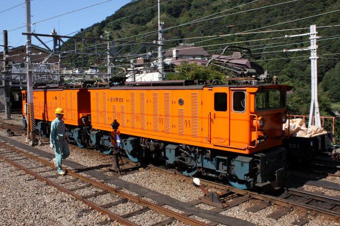 黒部峡谷鉄道EHR形 - 日本の旅・...
