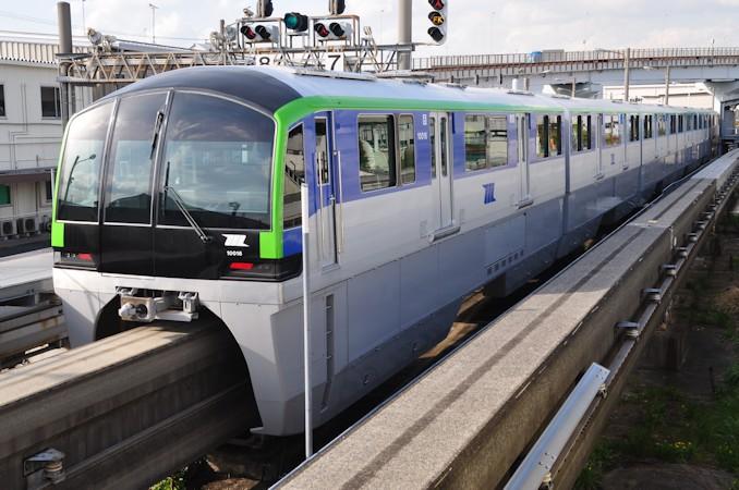 東京モノレール10000形 - 日本の旅・鉄道見聞録