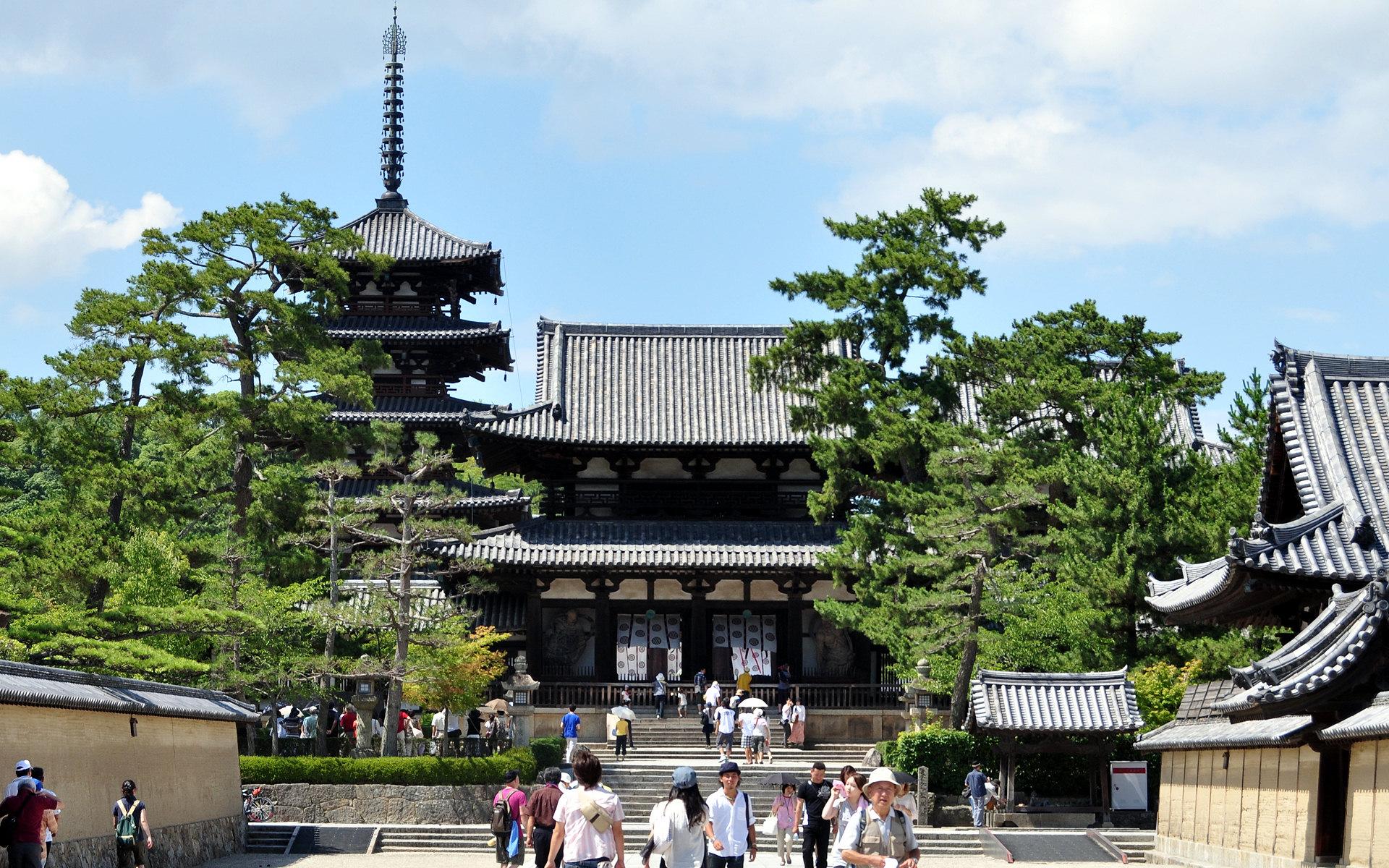 法隆寺地域の仏教建造物の画像 p1_24