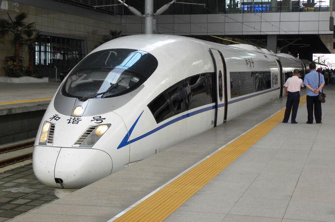中国高速鉄道CRH3型電車 - 世界...